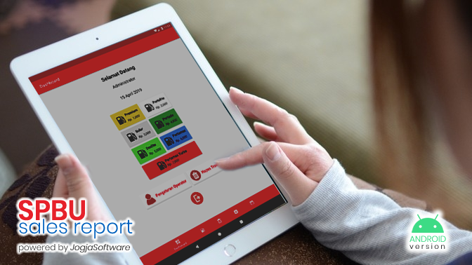 Js SPBU Sales Report, Aplikasi Android Penjualan BBM